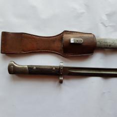 CUTIT- BAIONETA MILITARA DE LUPTA ROMANEASCA - al 2 lea RAZBOI MONDIAL - WW 2