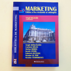 MARKETING = VIRGIL BALAURE = AN 2002 - EDITIA A II A - Carte Marketing