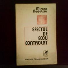 Mircea Nedelciu Efectul de ecou controlat, ed. princeps, Alta editura