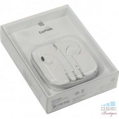Casti Handsfree Apple iPhone 5 5s 6 6 Plus 6s MD827FE/A Originale In Blister - Handsfree GSM