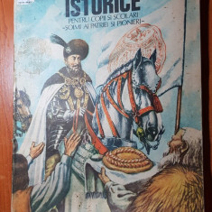 Povestiri istorice pt copii si scolari soimi ai patriei si pionieri 1987- vol. 2