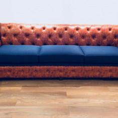 Canapea si fotoliu Chesterfield