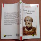 Despre generare si nimicire - Aristotel, Polirom