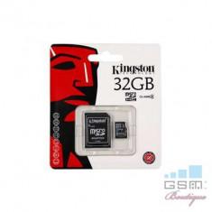 Card De Memorie Kingston micro SDHC Card 32GB C4 + SD Adapter - Card memorie