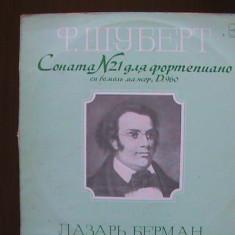 SCHUBERT - Sonata nr.21 pentru pian și flaut OP. D. 960 - Disc pick-up vinil - Muzica Clasica Melodia