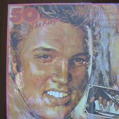 ELVIS PRESLEY - Greatest Songs - 50 X THE KING - Muzica Rock & Roll electrecord, VINIL
