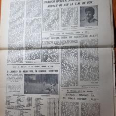 Ziarul sportul 2 octombrie 1989-francisc vastag medalie de aur la CM de box