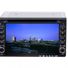 DVD Player Auto 6.4 inch HD Bluetooth 2 DIN USB J-6206 COD 53