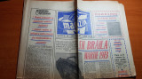 ziarul magazin 31 martie 1973-articol despre santierul naval braila