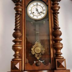 Ceas de perete cu pendula Kienzle 1890