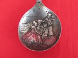 Lingura Olandeza de colectie din argint masiv, Tacamuri
