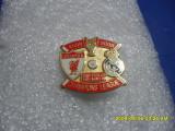 Insigna         Liverpool  -  Real  Madrid   Champ.  L.  2009