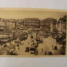 "PVM - Ilustrata MARSEILLE Franta ""Quai des Belges"" circulata 1933"