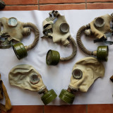 MASCA MILITARA DE GAZE - 5 buc. - RUSIA anii 1950