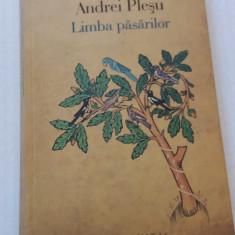 Limba Pasarilor - Andrei Plesu - Filosofie