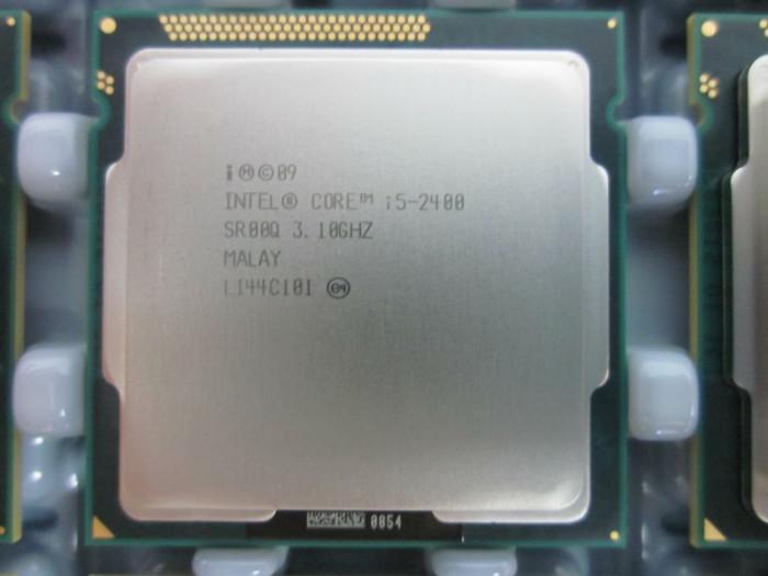 Procesor Sandy Bridge Intel I5 2400 Quad Core 3.1 ghz 6MB 32nm socket LGA 1155 foto mare
