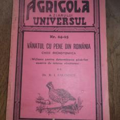 VANATUL CU PENE DIN ROMANIA, 1944