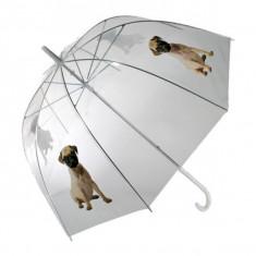 Umbrela transparenta Dog - Umbrela Copii