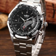 CEAS AUTOMATIC WINNER CARRERA TACHYMETER SILVER SKELETON-MODEL 2018 !! SUPERB !!