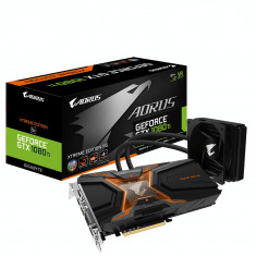 AORUS GTX 1080Ti Waterforce Xtreme Edition 11G - Placa video PC Gigabyte