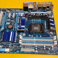 159S.Placa De Baza GIGABYTE P55A-UD4, 4xDDR3, Socket 1156, Sata III, USB 3.0, Pentru INTEL, ATX