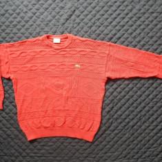 Bluza tricotata Lacoste Made in France. Marime 5, vezi dimensiuni; ca noua - Bluza barbati, Marime: Alta, Culoare: Din imagine