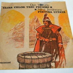 Disc vinil LP - Povesti- Taina celor trei feciori - Fantana Uitata - Muzica pentru copii
