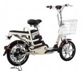 Bicicleta electrica Camp 36V 12Ah Autonomie 33KM BeigePB Cod:E00005-BL-10