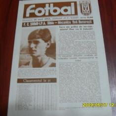 Program        FC  Soimii  IPA  Sibiu   -  Mecanica  F.  Buc.