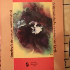 Radacini in lumina - carte de poezie bilingva RO GER - Nichita Stanescu etc
