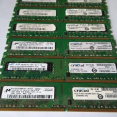 Memorie Ram 2 Gb DDR2 / 667 Mhz/ PC2-5300U / Intr-un singur modul/ TESTATE (44Z)