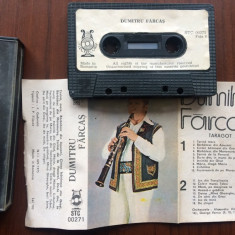 Dumitru farcas taragot caseta audio stc 271 electrecord muzica populara folclor, Casete audio