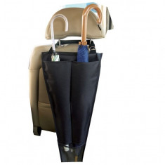 Suport umbrele pentru tetiera auto