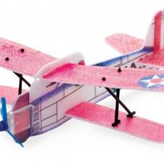 Avion biplan polistiren extrudat - Macheta Aeromodel