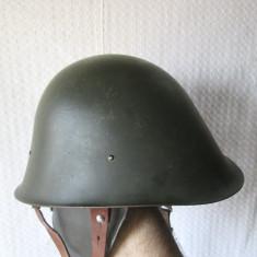 Casca militara romaneasca RSR, casca armata romana comunism, casca Md. 74