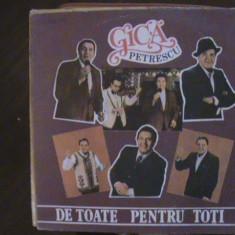 GICĂ PETRESCU - Muzică de petrecere - De toate pentru toți - Disc pick-up vinil - Muzica Ambientala electrecord