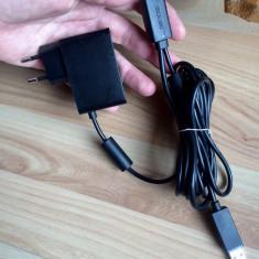 Incarcator alimentator senzor Kinect Xbox 360, Cabluri