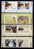 Romania 2013  fauna  serie cu vignieta    MNH  w49, Nestampilat