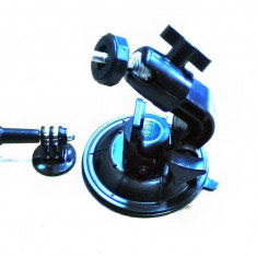 Kit suport sistem ventuza prindere rapida parbriz camera GoPro Hero 3, 4, 5