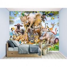 Tapet pentru Copii Animalele din Safari