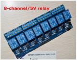 Modul cu 8 relee 5V,optocuplor,TTL Logic,relay,releu,Arduino,ARM,PIC,Raspberry