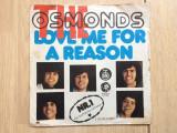 "The osmonds love me for a reason fever disc 7"" single vinyl muzica pop rock 1974, VINIL, MGM rec"