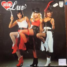 Luv lots of luv album disc vinyl lp muzica pop disco 1979 philips holland rec, VINIL