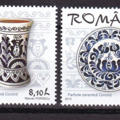Romania 2013 ceramica MNH w49 - Timbre Romania, Nestampilat