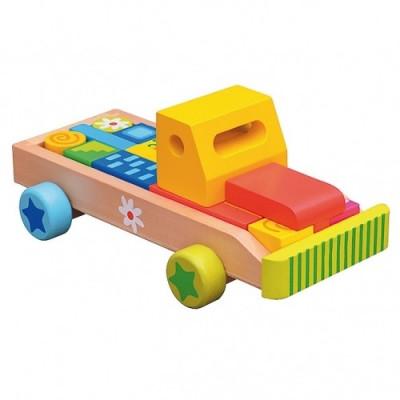 Resigilat - Camion Cu Cuburi - Bino-Mertens foto