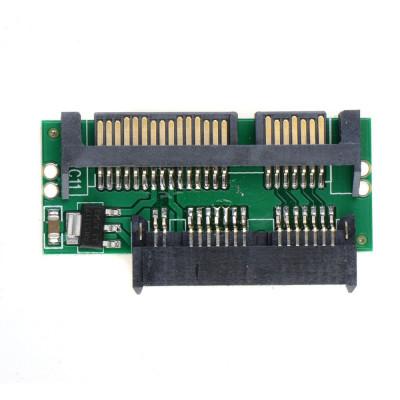 """Adaptor convertor HDD / SSD 1.8"""" Micro SATA 16pini la 2.5"""" SATA 3 22pini foto"""