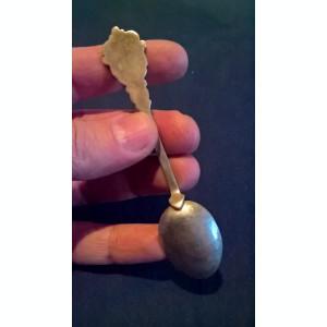 Lingurita argint 800 cu blazon