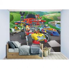 Tapet pentru Copii Mickey Mouse Roadster Racers