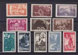 ROMANIA 1945  LP 170  PENTRU ARDELENI SERIE  MNH, Nestampilat