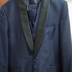 Costum Man's Style Fashion - Costum barbati, Marime: 52, Culoare: Bleu
